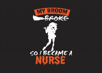 My Broke Nurse t shirt designs for sale