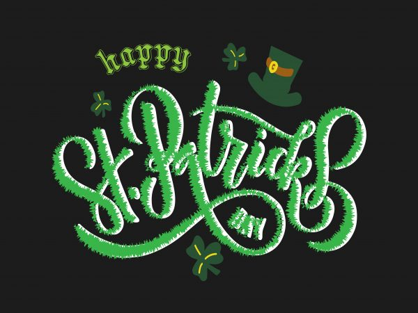 Happy St Patrick's Day graphic t shirt