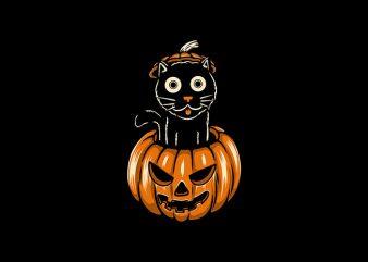 Pump Cat t shirt illustration