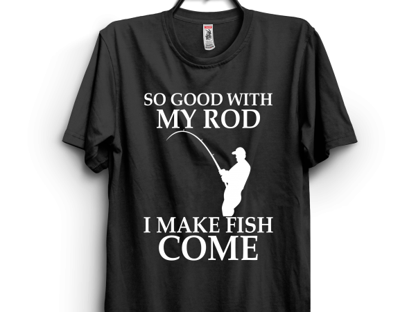 I make fish come t shirt design for sale