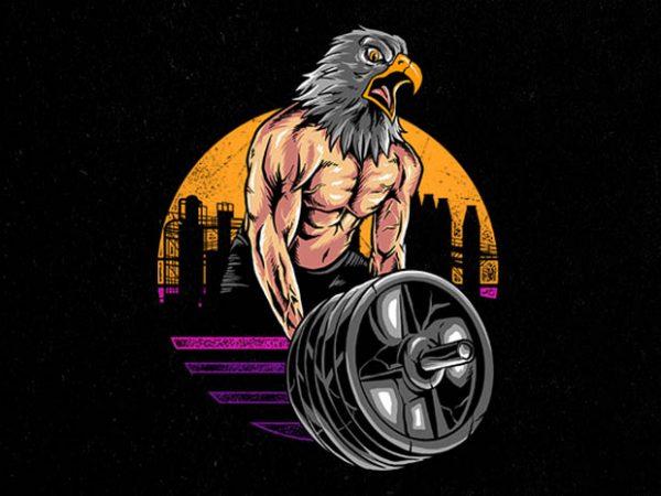 eagle gym Graphic t-shirt design