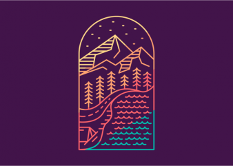 Adventurer Destination t shirt vector