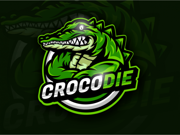 Crocodie t shirt vector file