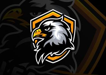 Eagle Head vector clipart