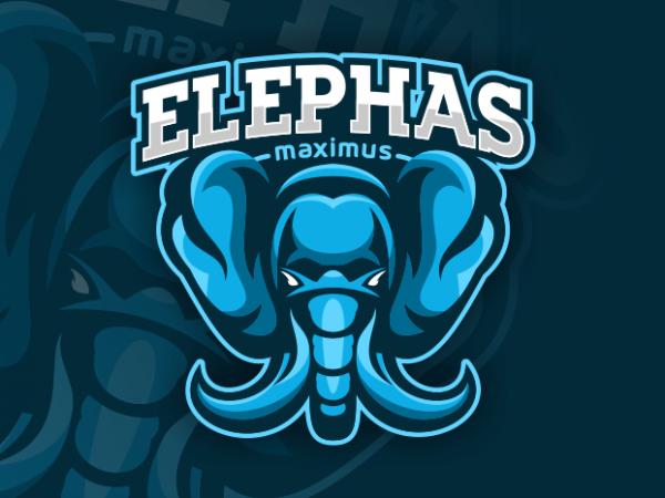 Elephas Maximus vector clipart