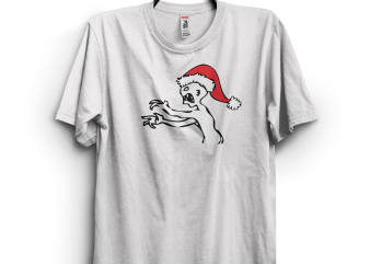 Grr Argh Christmas t shirt design template