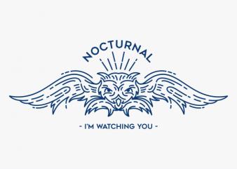 Owl Line t shirt design online