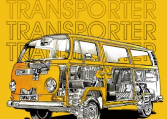 TRANSPORTER t shirt designs for sale