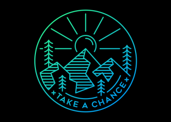 Take a Chance t shirt designs for sale