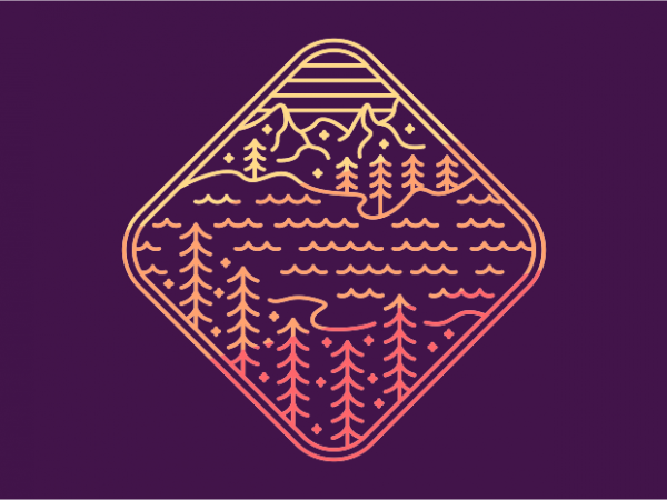 The Lost Lake t shirt designs for sale
