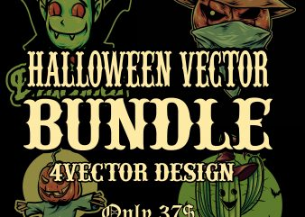 halloween vector bundle vector t-shirt design
