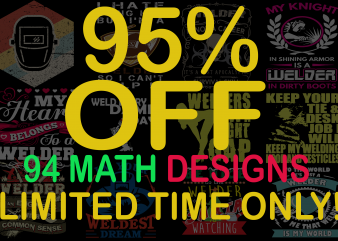 SPECIAL WELDER BUNDLE – 76 DESIGNS – 95% OFF – LIMITED TIME ONLY!