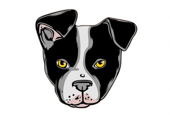 dog Vector t-shirt design