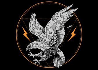 eagle Vector t-shirt design