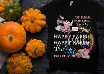 Happy Fabric soft fabric warm fabric Grandma quilt T shirt design