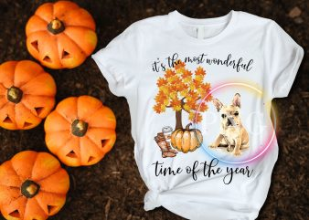 It's the most wonderful time of the year french bulldog T shirt