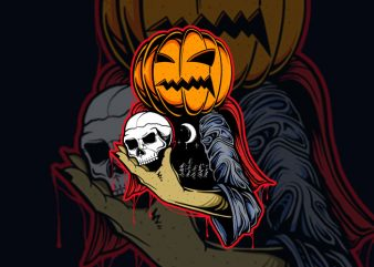 HELLOWEEN T-SHIRT DESIGN