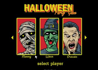 Halloween Party Game graphic t shirt