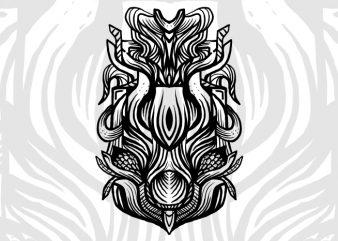 Lactoba t-shirt design template