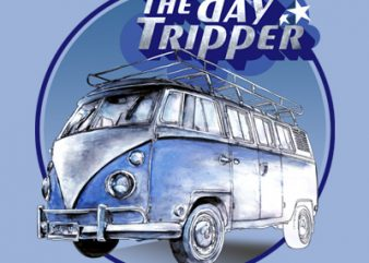 THE DAY TRIPPER t shirt designs for sale