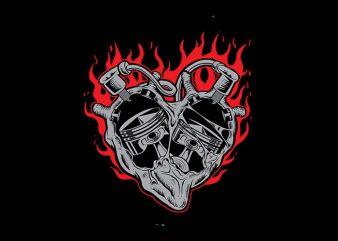 heart Vector t-shirt design