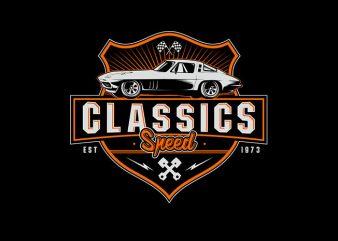 Classic Speed Vector t-shirt design