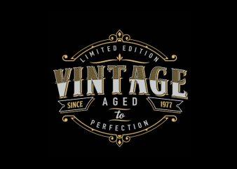 vintage style Vector t-shirt design