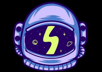 t-shirt design , astronauts, space