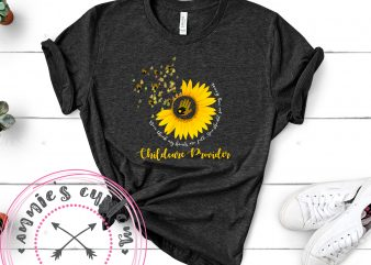 Childcare Provider t shirt vector file