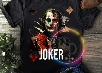Joker 2019 Poker Artwork T shirt design
