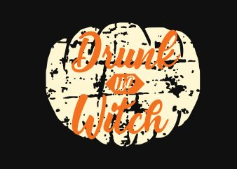 Drink Up Witch t shirt vector illustration