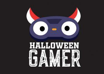 Halloween Gamer graphic t shirt