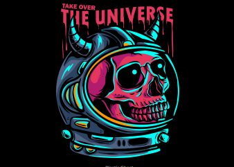 Take Over The Universe t shirt designs for sale