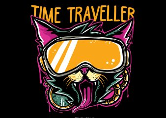 Time Traveller t shirt designs for sale