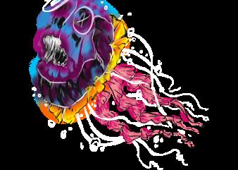 jellyfish vector vector shirt design