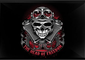 The Head of Freedom t shirt designs for sale
