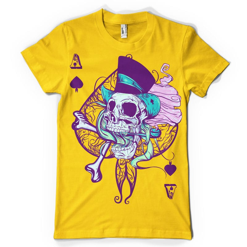 Ace of spades buy t shirt design