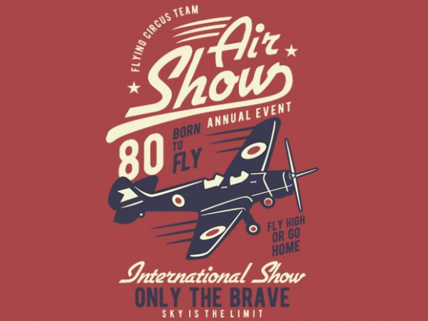 Air Show Airplane buy tshirt design 600x450 - Air Show Airplane t shirt design buy t shirt design