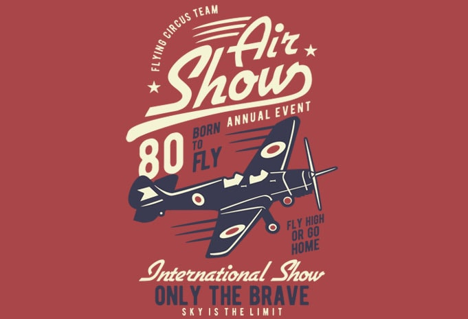 Air Show Airplane buy tshirt design - Air Show Airplane t shirt design buy t shirt design
