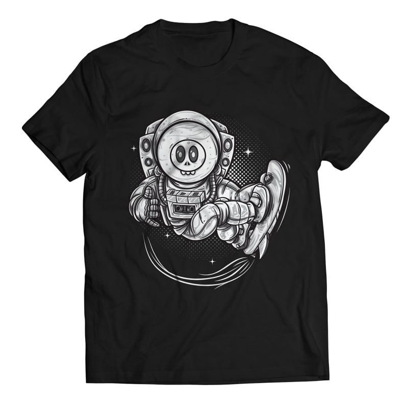 Anti Gravity - Astronaut buy t shirt design