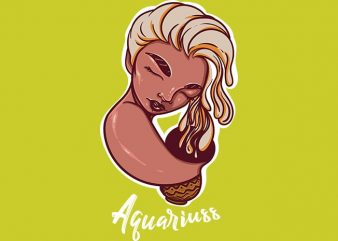 Aquariuss buy t shirt design