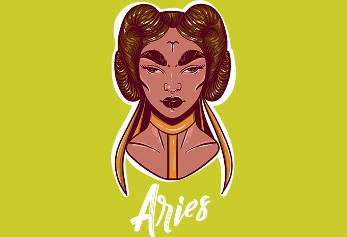 Aries buy t shirt design
