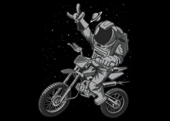 Astro Motocross t shirt vector