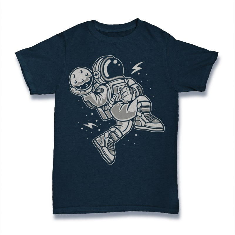 Astronaut Slamdunk buy t shirt design