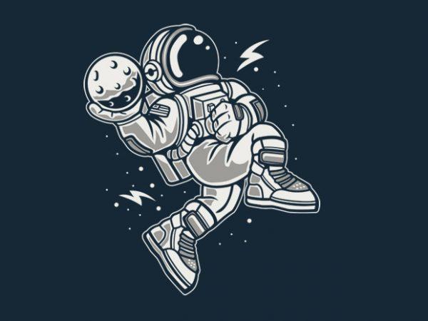 Astronaut Slamdunk Preview 600x450 - Astronaut Slamdunk buy t shirt design