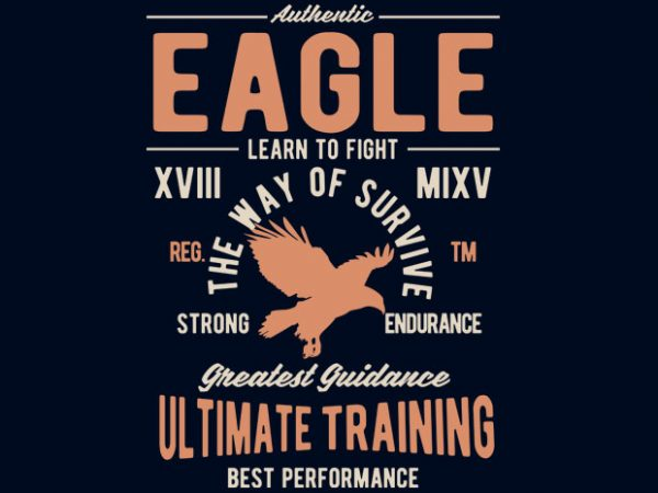 Authentic Eagle Tshirt design buy t shirt design