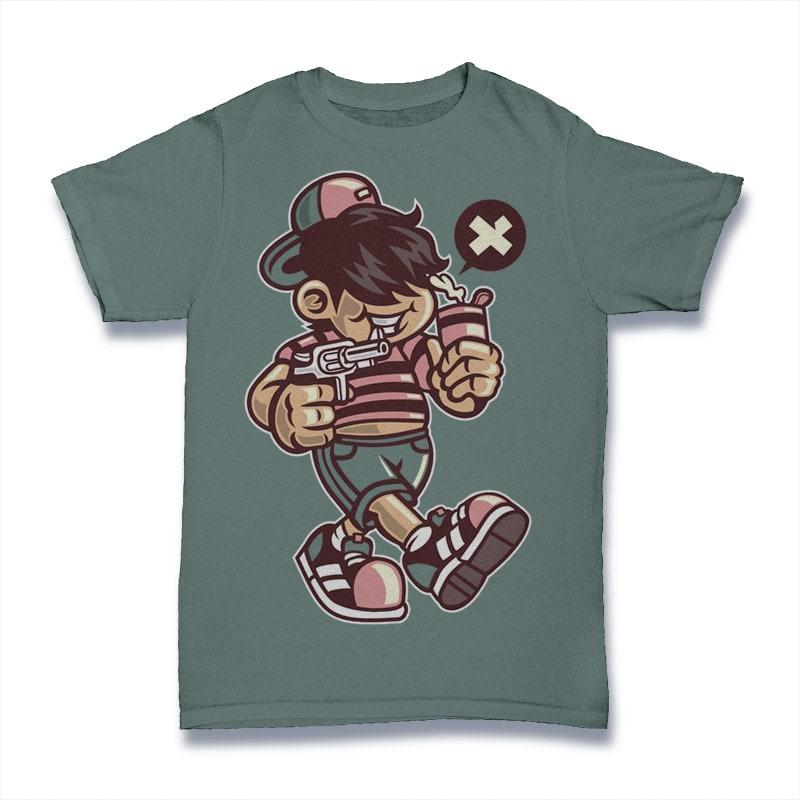 Bad Kid buy t shirt design