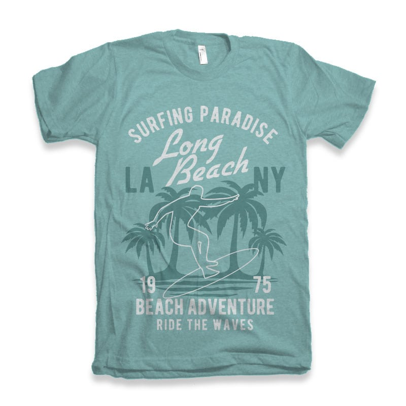 Beach Adventure t-shirt design buy t shirt design