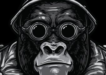 Big Bro - Gorilla Bikers buy t shirt design