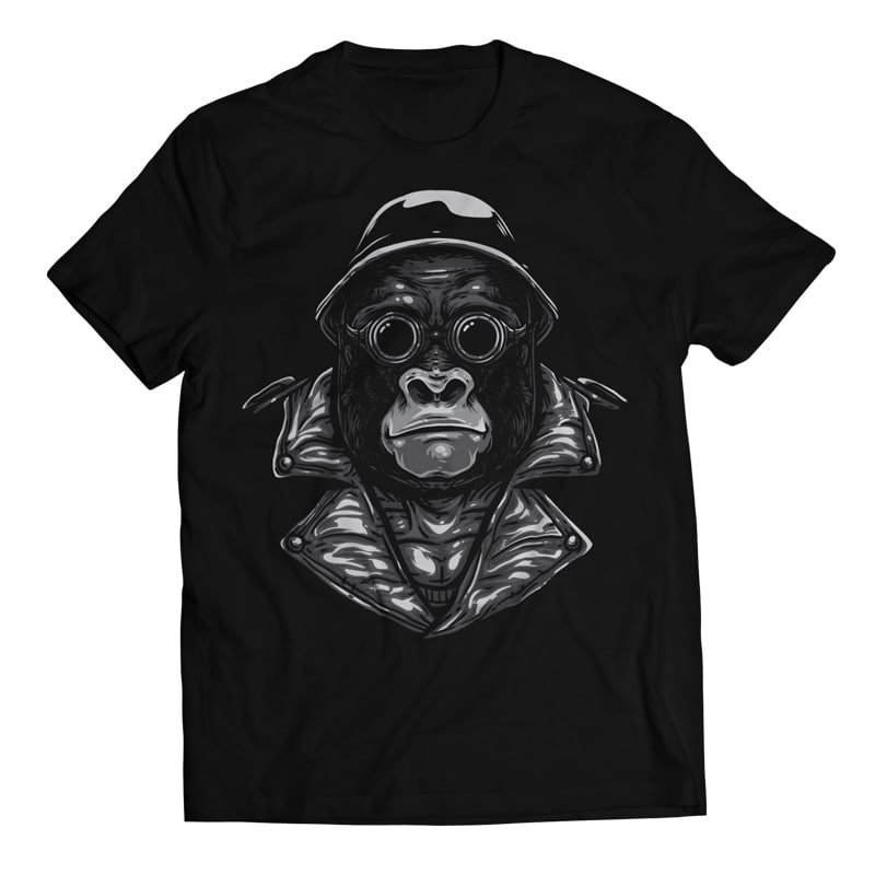 Big Bro - Gorilla Bikers buy t shirt design